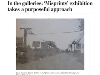 The Washington Post, In the galleries: 'Misprints' exhibition takes a purposeful approach