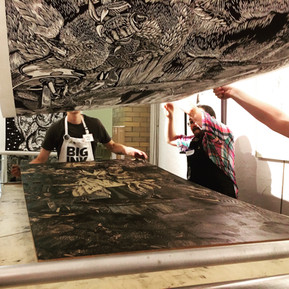 Print is BIG at Pyramid Atlantic Art Center