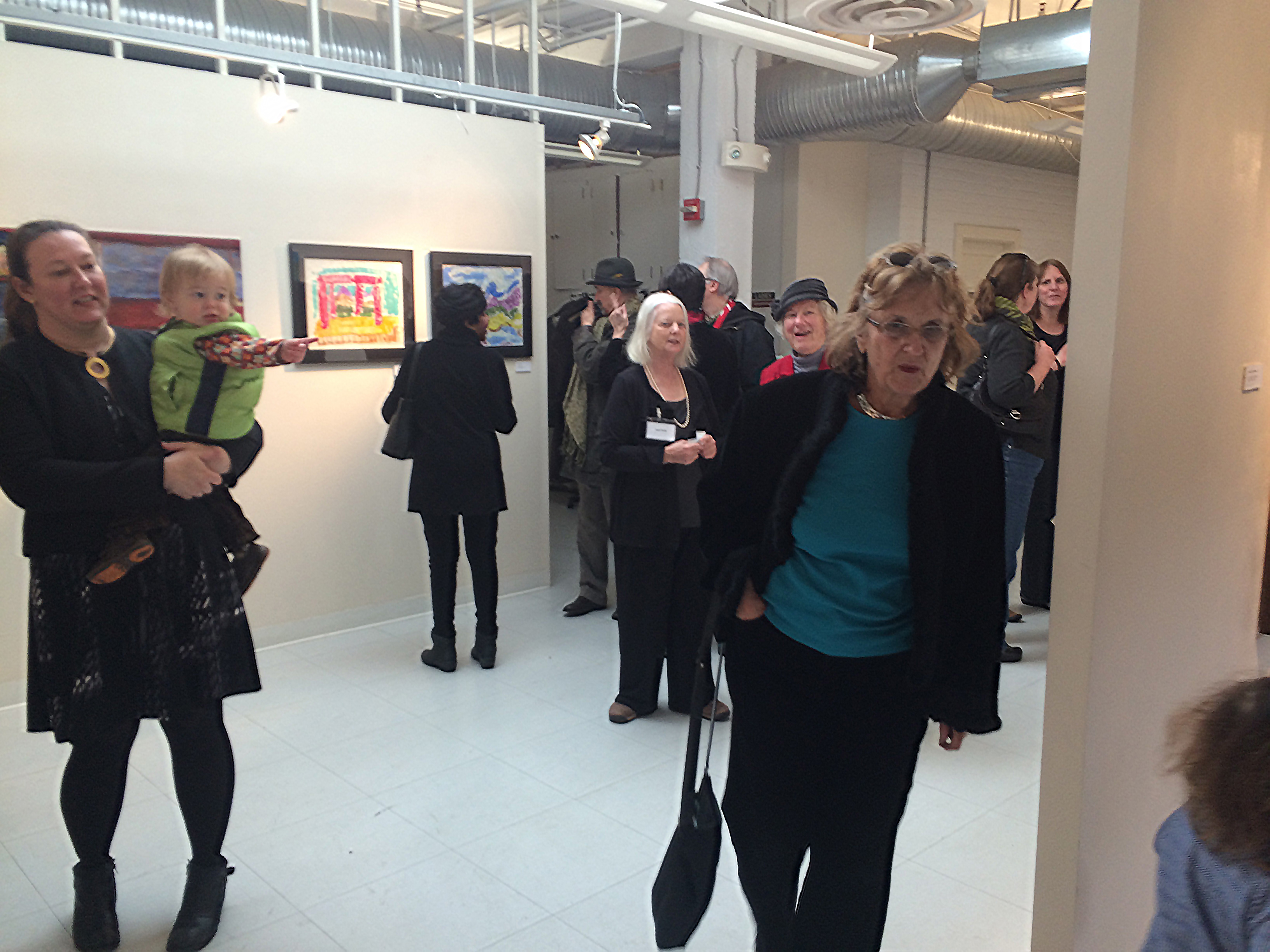 Images from Opening Reception