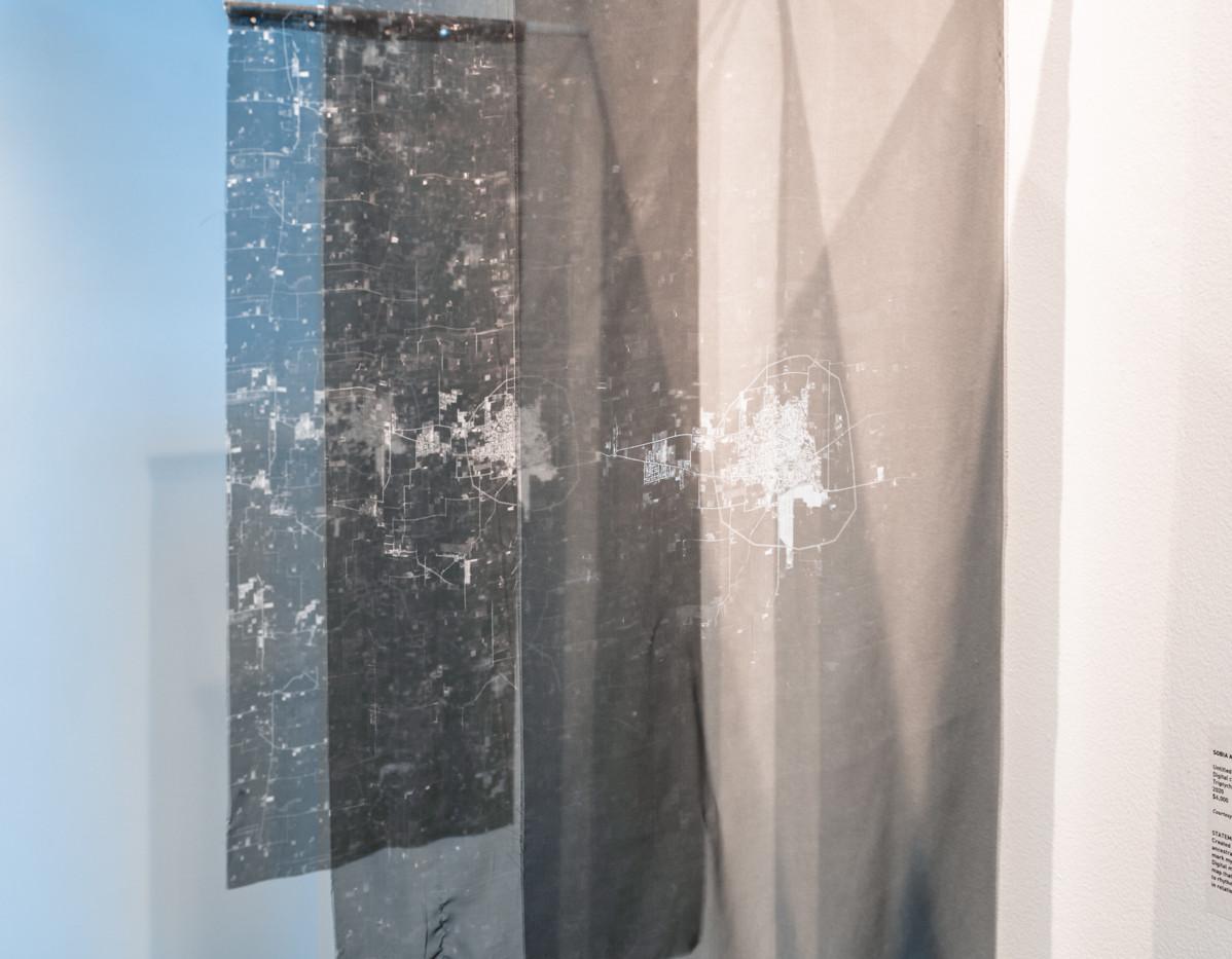 "SOBIA AHMAD  ""Untitled (Landmark) 2020"" (detail 2)  Photograph by StereoVision"