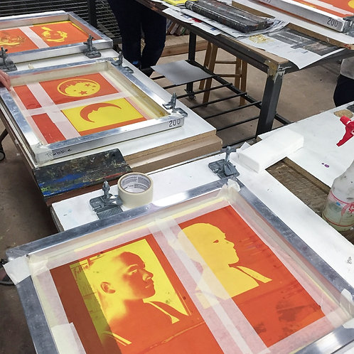 Screenprinting 101; Jun 20, 10am-4pm