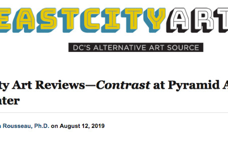 East City Art Reviews—CONTRAST at Pyramid Atlantic Art Center