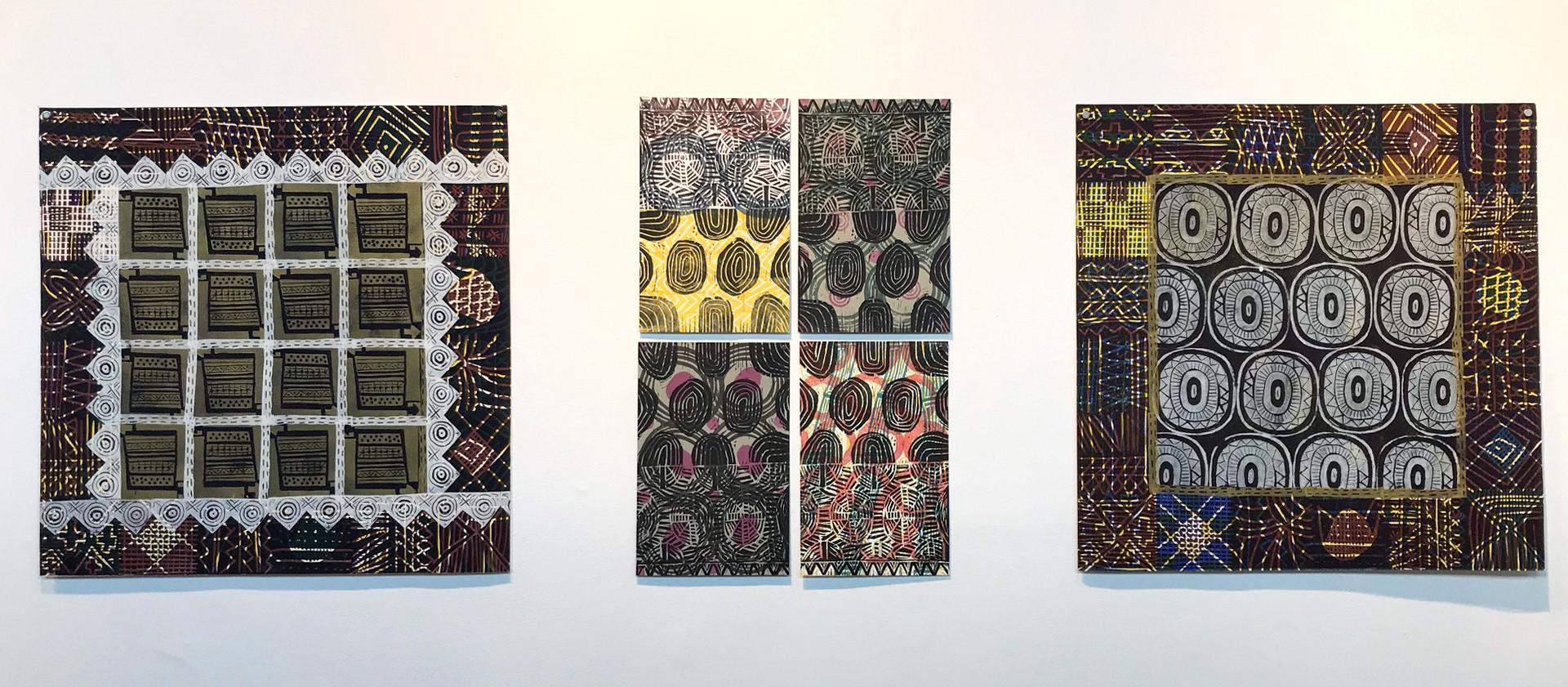 Gallery view, artist Sarah Matthews