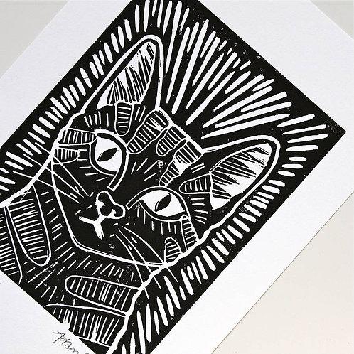 One-on-One Linocut Printmaking Workshop (3 hours)