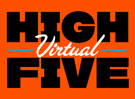 HIGH (Virtual) FIVE: Pyramid's Non-Traditional Print Exchange Brings Artists Together (While Sta