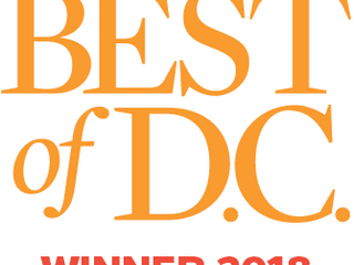 Pyramid wins Best of DC 2018 for our Book Arts Fair!