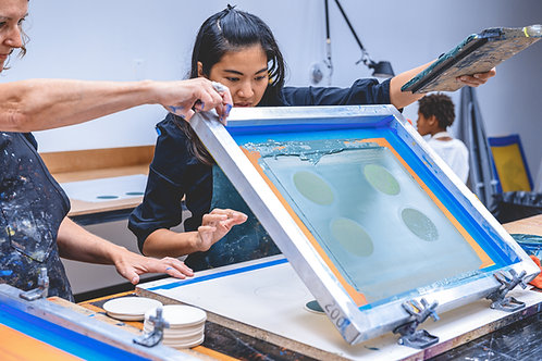 Screenprinting Happy Hour; Jul 2; 7:00–8:30pm
