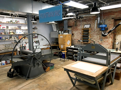 Printmaking Virtual Happy Hour; Jul 14; 6:30-9:30pm