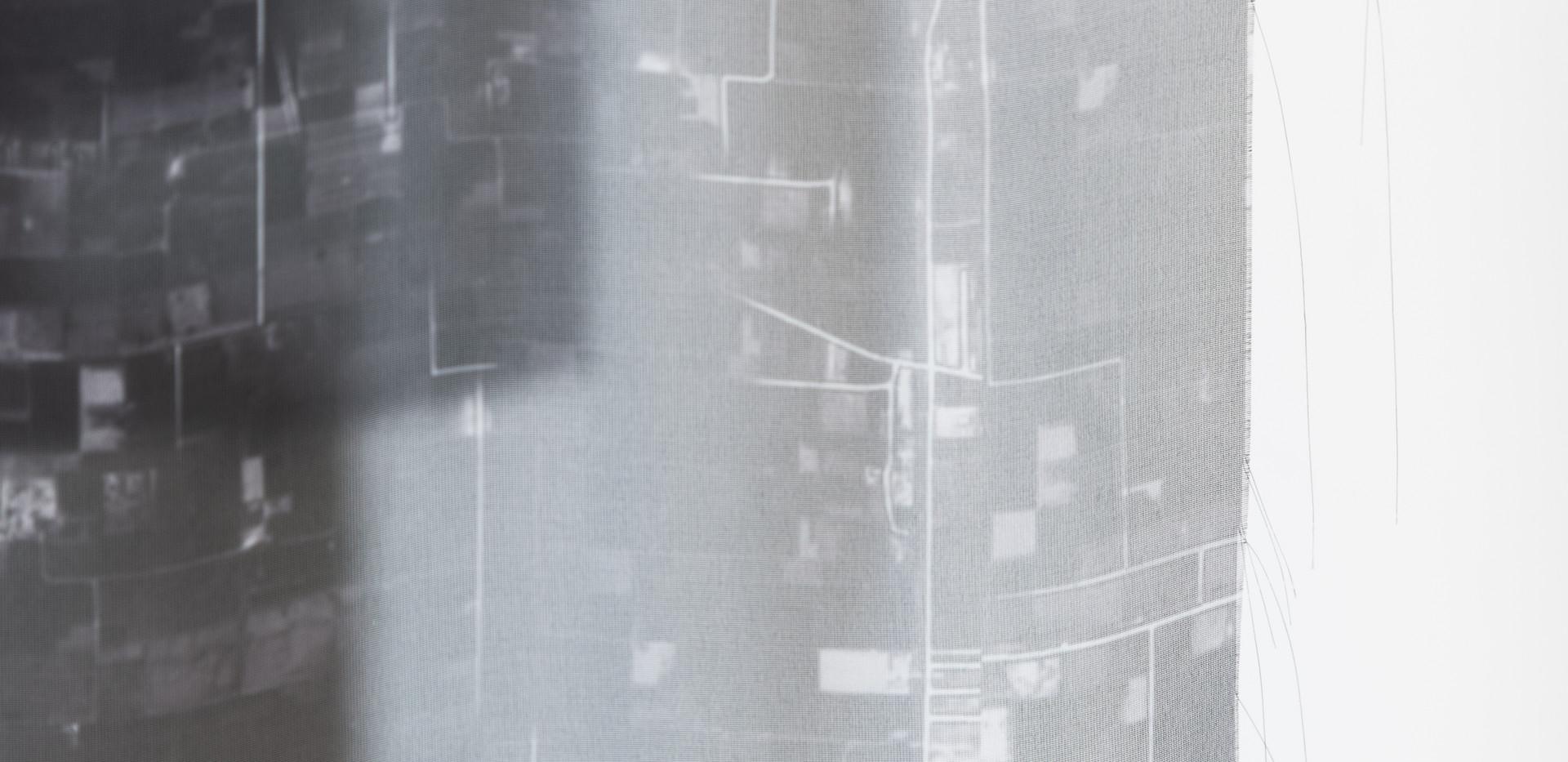 """SOBIA AHMAD  """"Untitled (Landmark) 2020"""" (detail 3)  Courtesy of Catalyst Contemporary, Washington DC"""