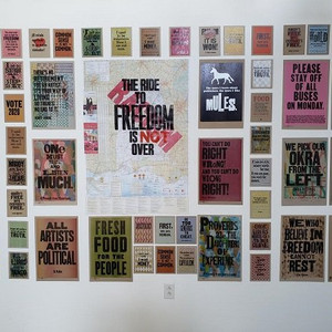 East City Art: Pyramid Atlantic Art Center Presents Amos Paul Kennedy Jr.'s 'Noise on the Wa