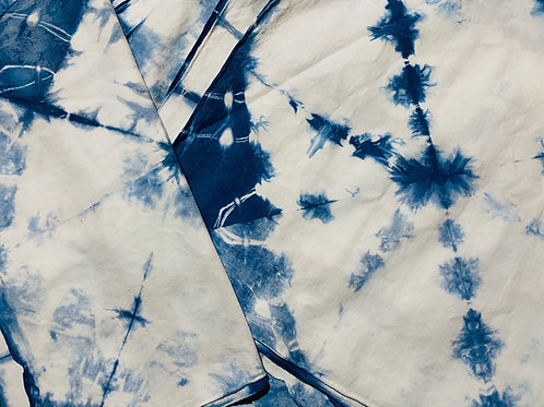 Shibori Indigo Dyeing Online; May 29; 10am–1pm