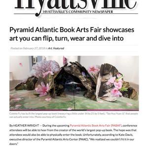 Pyramid Atlantic Book Arts Fair showcases art you can flip, turn, wear and dive into
