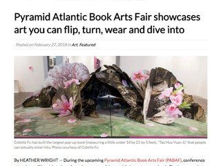 Pyramid Atlantic Book Arts Fair showcases art you can flip, turn, wear and dive into