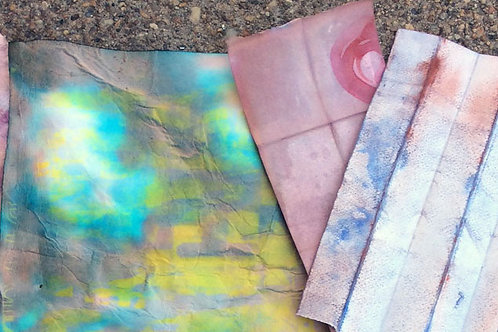 Zoom+Make: Orizomegami (Dyed Paper); Jan 27; 7-9pm
