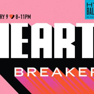 "NONTRADITIONAL VALENTINE'S  BASH AT PYRAMID ""HEARTBREAKER"" February 9, 2019"