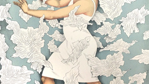 THE INNATE THREAD Drawings and Prints by Virtuoso Lithographer Kathryn Polk Explore Family and Femin