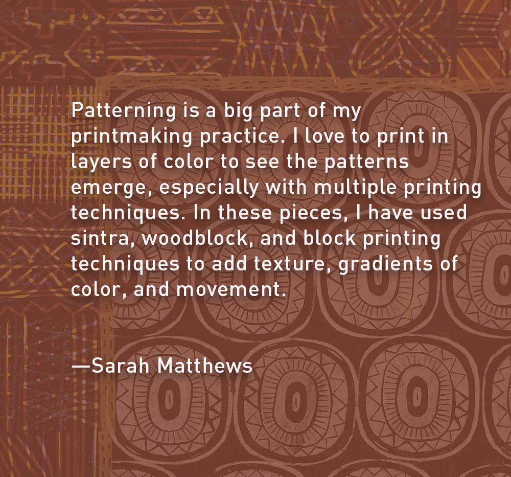 Artist Statement: Sarah Matthews
