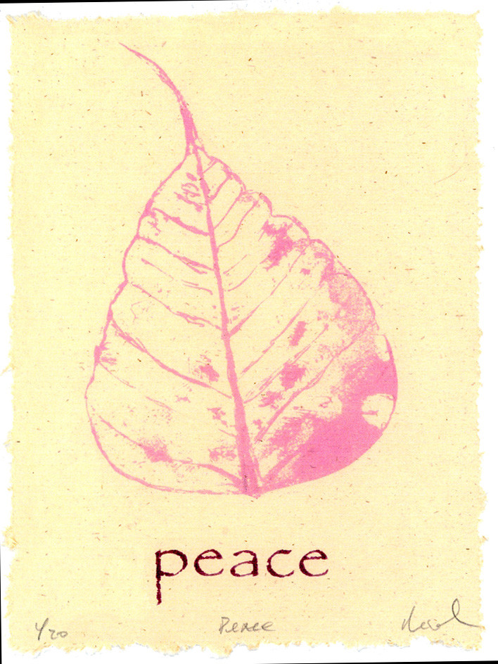"Rick Black  ""Peace"" Giclée / Pronto Plate"