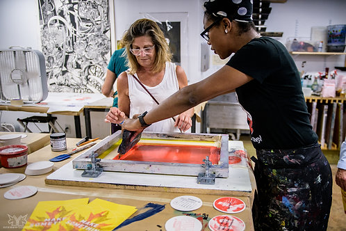 Two-to-One Screenprinting Workshop (3 hours)
