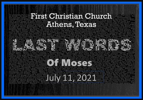 Last Words of Moses