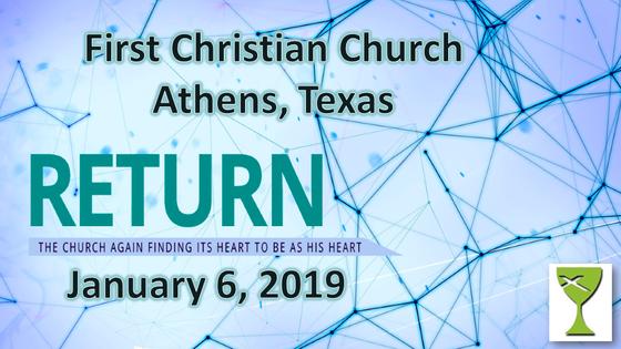 Return - January 6 Sermon