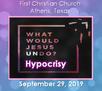 What Would Jesus Undo? Hypocrisy