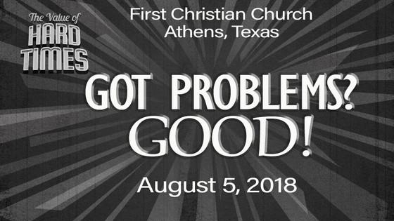 Sunday's Sermon - August 5