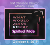 What Would Jesus UNDO? Spiritual Pride - October 6 Sermon