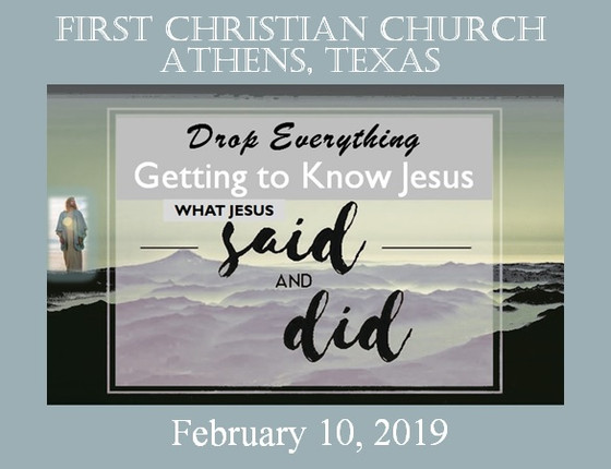 Drop Everything - Feb 10th Sermon