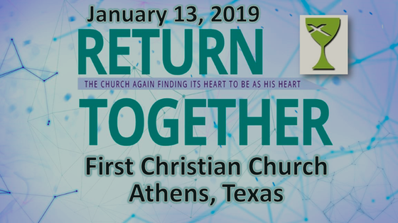Return Together - Sermon Jan. 13