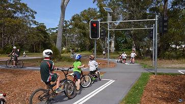 Traffic Lights at Clifton Park