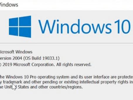 Erstes Windows 10 Funktionsupdate 2020
