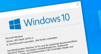 Support Ende Windows 10 1709, 1809 & 1903