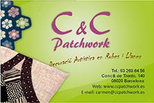 Tarjeta C&C PatchWork ANVERSO 00 9x6 CMY