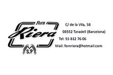 Tarjeta Forn RIERA ANVERSO 9x6 CMYK copi