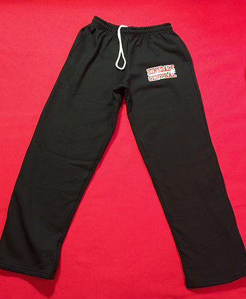 Unisex Black Sweatpants