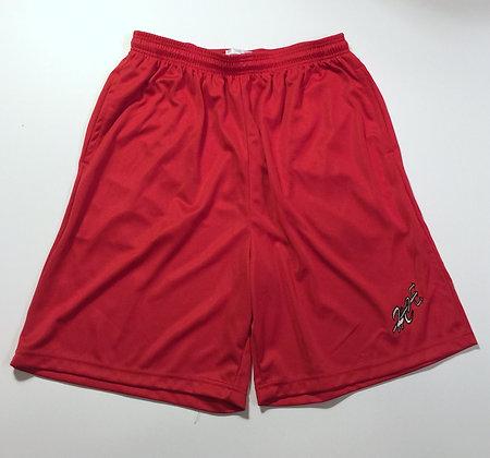 Men's Red or Black Basketball Shorts