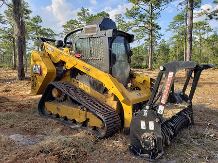Volusia County Land Management Forestry Mulching