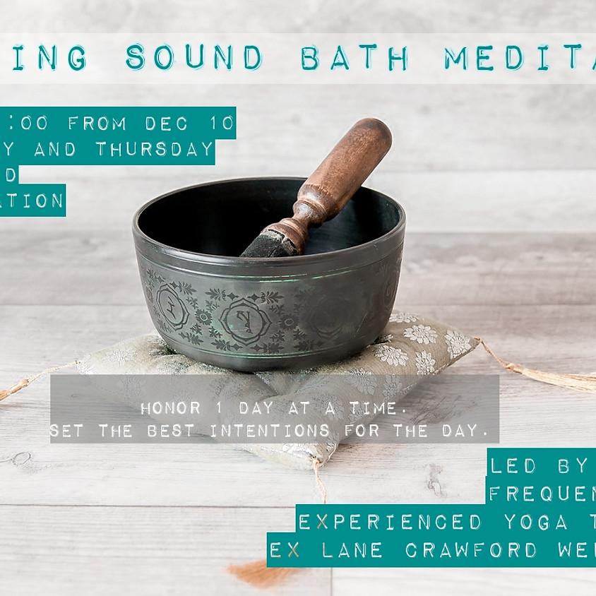 Morning Sound Bath Meditation