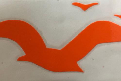 Sunny Birds Transfer Sticker