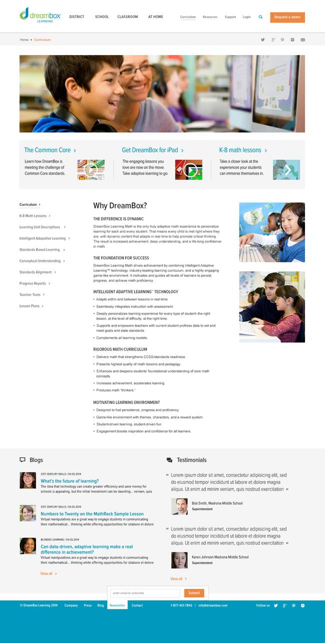 Dreambox Learning - Secondary Hub
