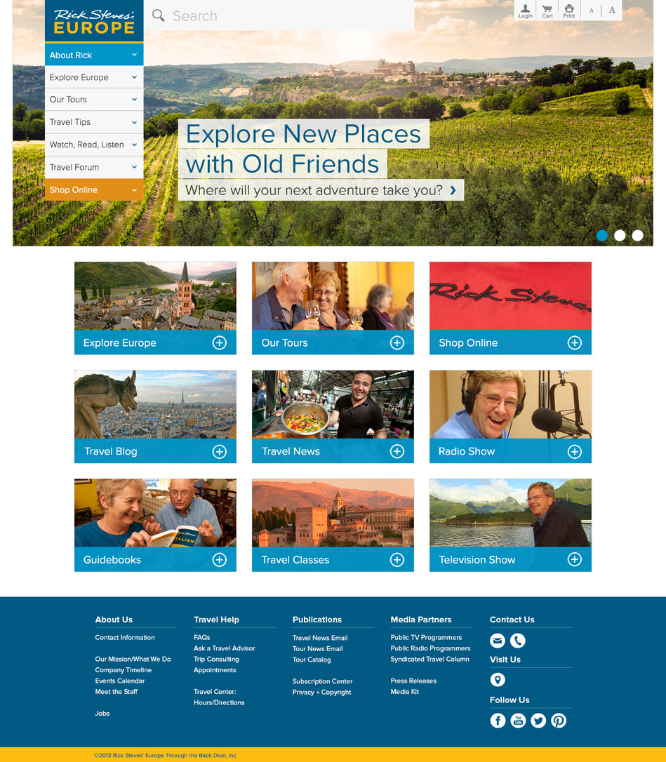 Rick Steves' Home Page