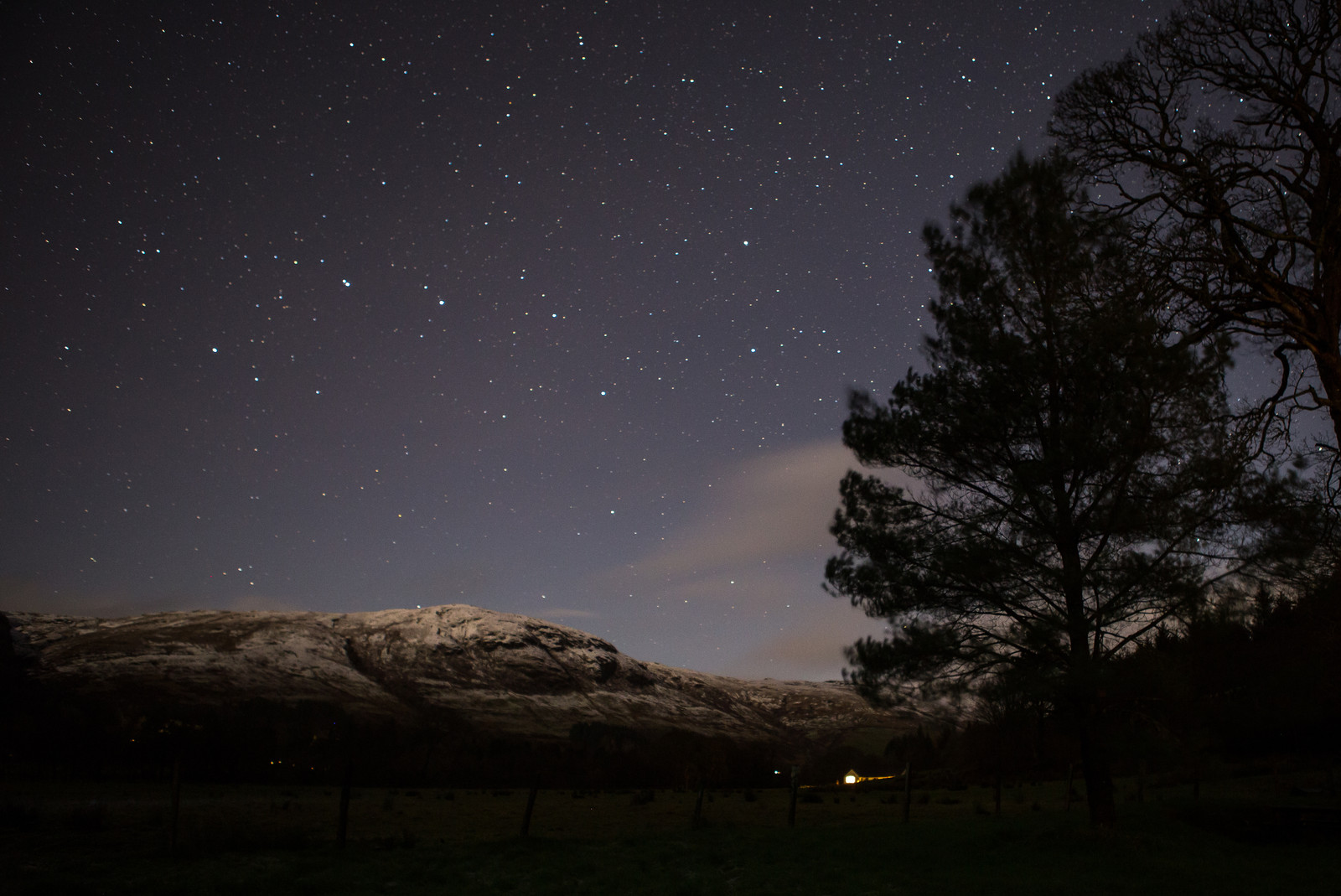 Eco Tourism Argyll Scotland Nature Holidays Aurora Borealis Can Be Seen From Our Accomodation