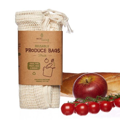 Produce Bags (Set of 3)