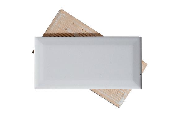 Subway Blanco - Biselado Brillante 7.5x15cm (m2)