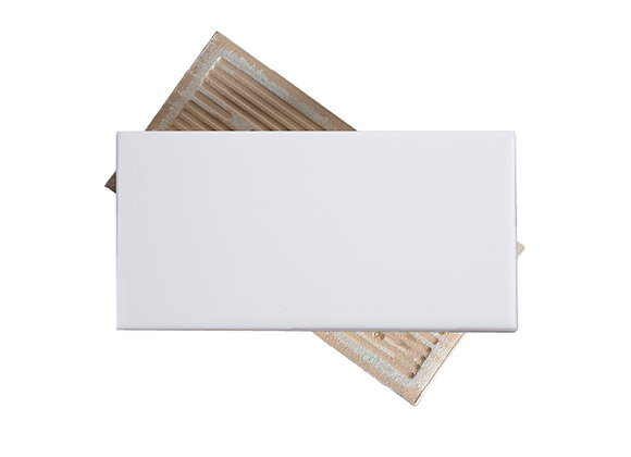 Subway Blanco - Liso Brillante 7.5x15 cm (m2)