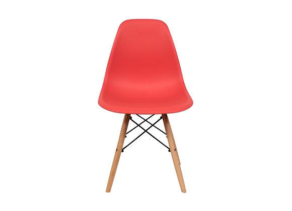 Silla Eames Roja x4