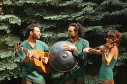 Gyuri, Ariel and Zsofi