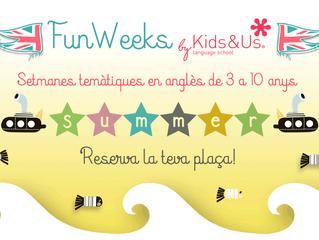 Aquest estiu refresca't amb les Summer Fun Weeks de Kids&Us