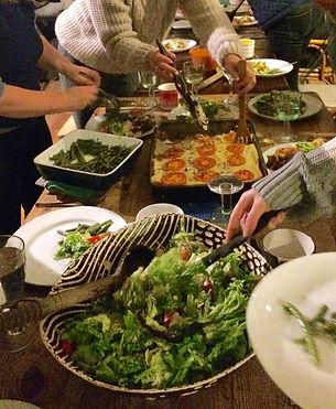 Moussaka and salads.jpg